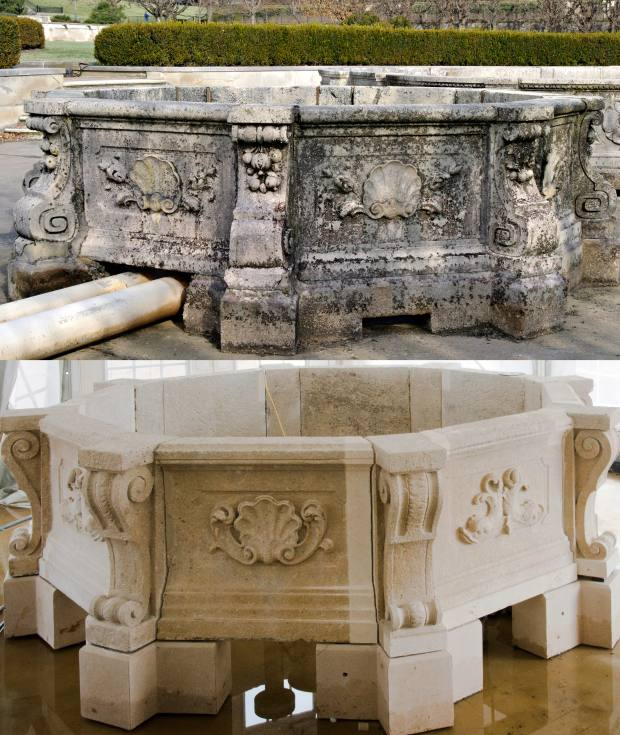 The cleaning process alone revealed stunning, intricate details that have not been seen for decades