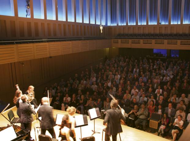 The Aurora Orchestra performing at Kings Place