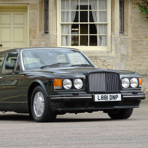 1994 Bentley Turbo RL, supplied new to the Prince of Wales in 1993, estimate £12,000-£14,000