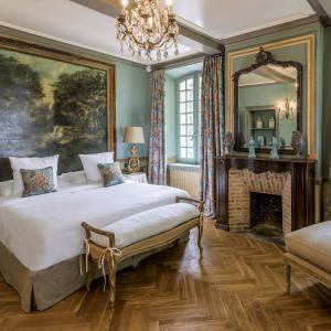 The Annabel suite at Domaine de la Baume, Provence