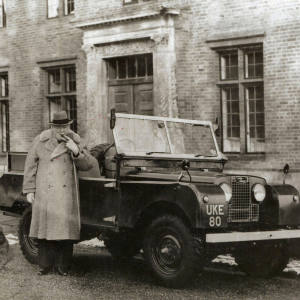 1954 Series I (owned by Winston Churchill), sold for £129,000 at Cheffins