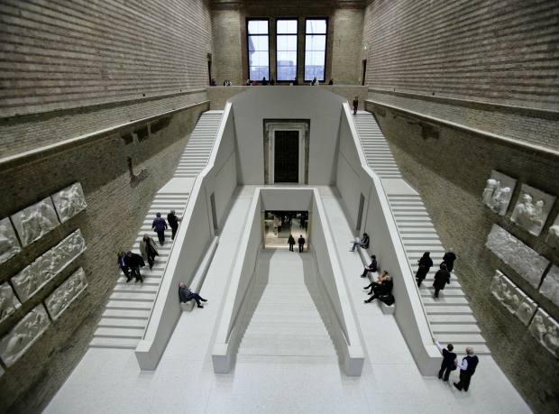 Neues Museum, Berlin, designed by David Chipperfield Architects