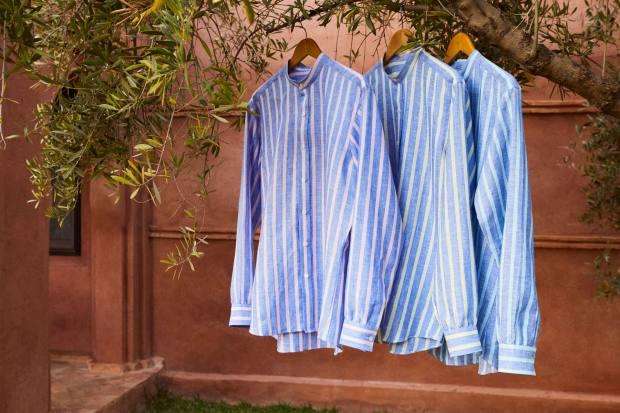 Barre-stripe shirts