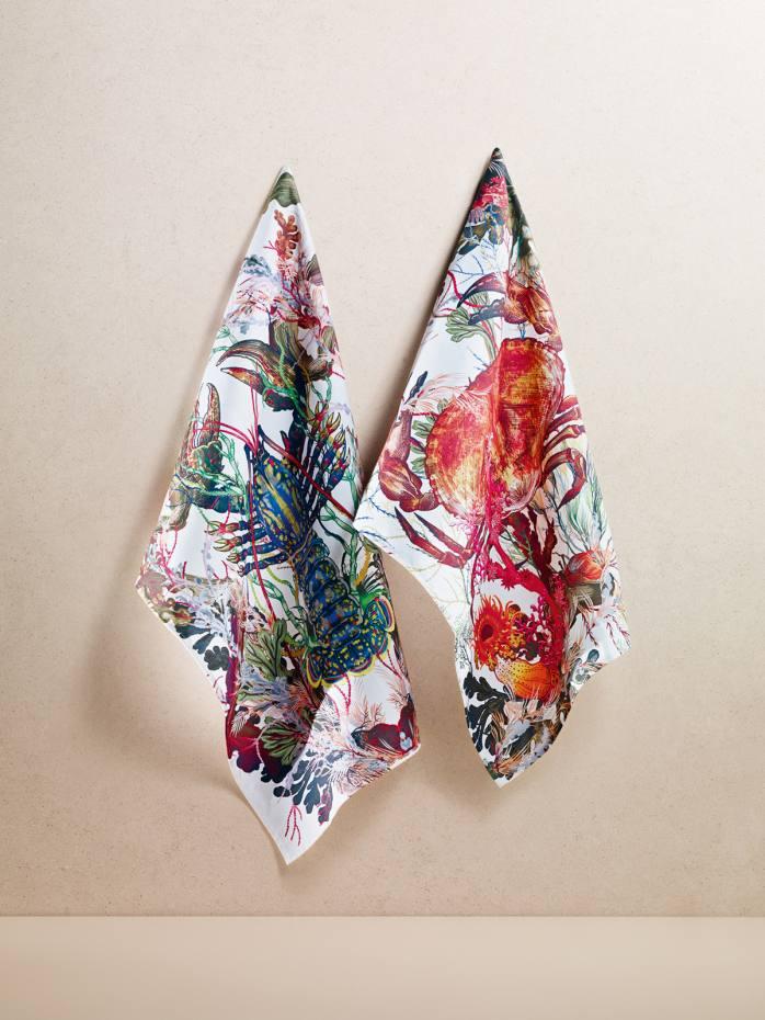 Timorous Beasties tea towels, £14 each