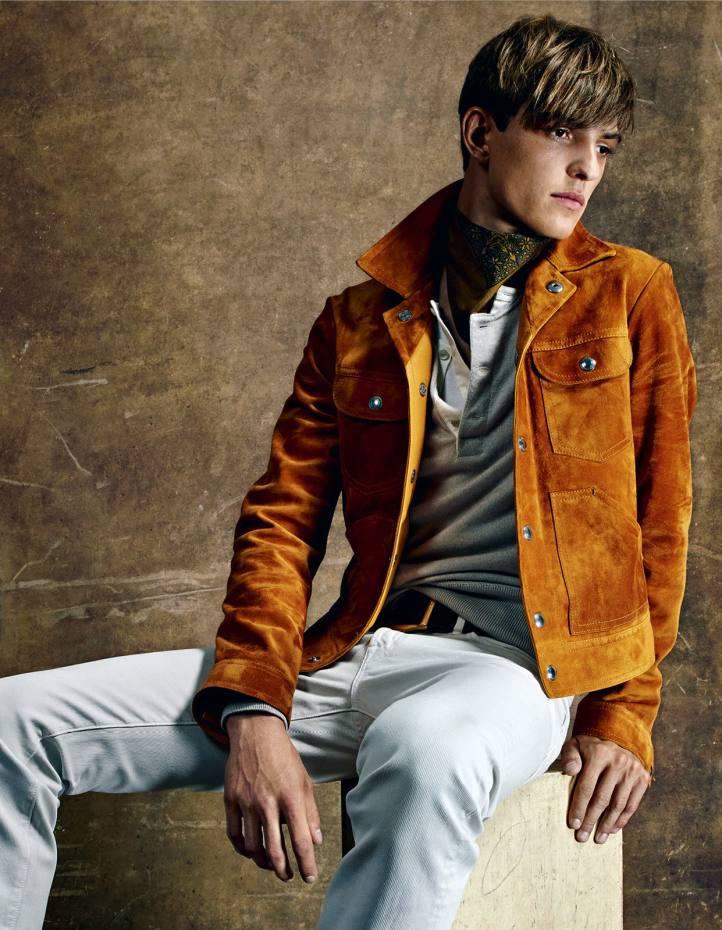 Tom Ford suede Western jacket, £4,320