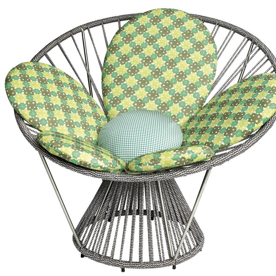 Missoni Home Rajhastan Chair: Missoni Home Cordula Chair