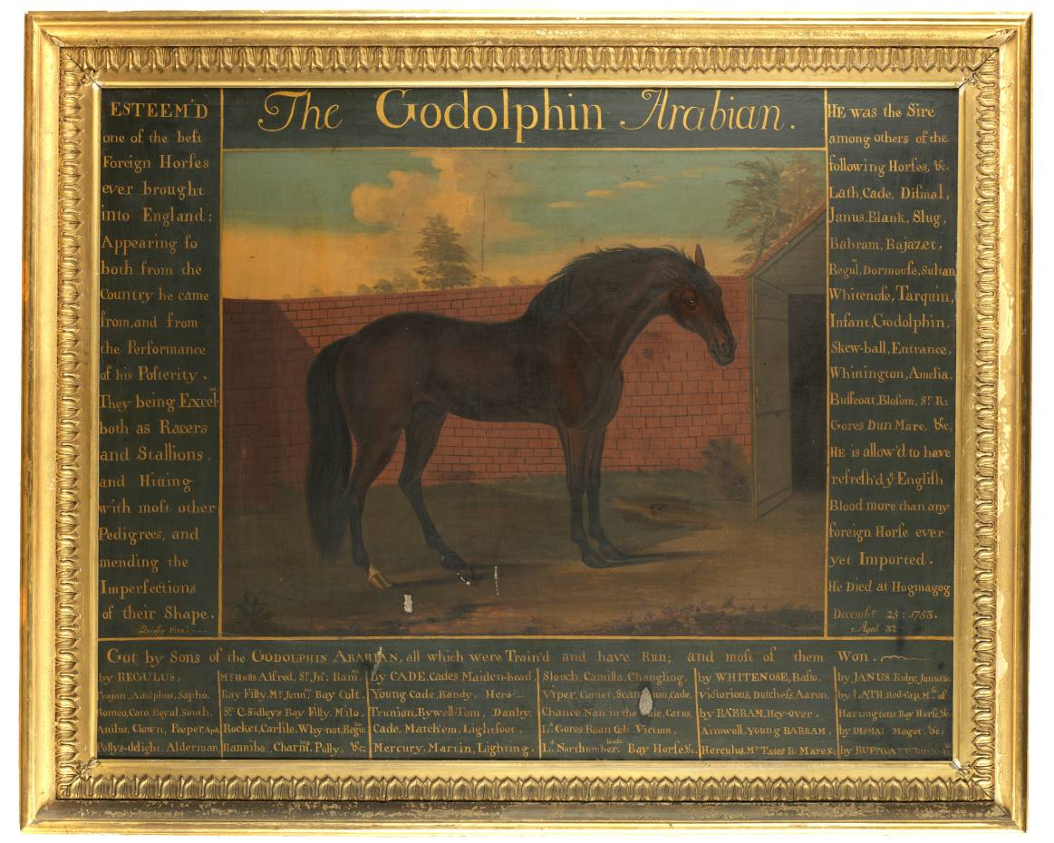 The Godolphin Arabian by Daniel Quigley, £15,000-£20,000