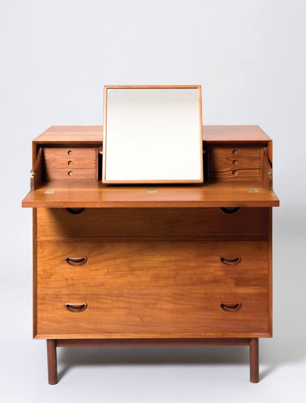 Peter Hvidt and Orla Mølgaard-Nielsen dressing chest, c1950, £4,800