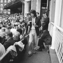 Mick Jagger at the Oval in 1972