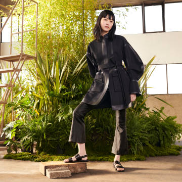 Mame Kurogouchi has teamed up with Tod's as part of the Italian house's T Factory project