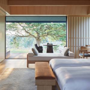 A bedroom suite at Amanemu, Japan.