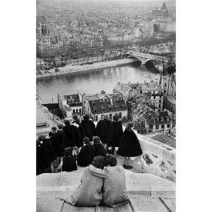 View from Notre Dame, 1952, by Henri Cartier-Bresson