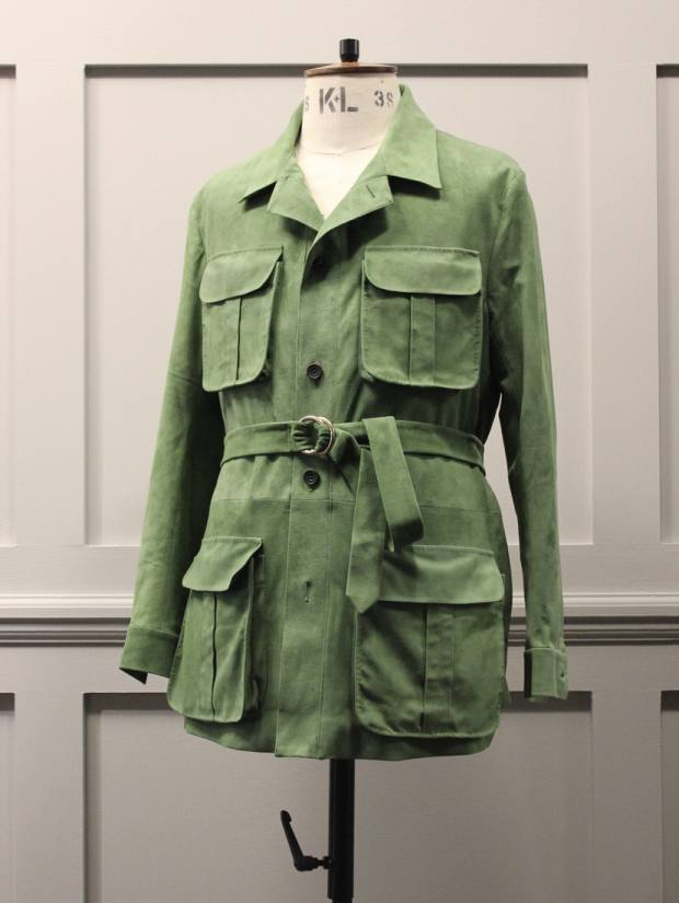 Timothy Everest suede safari jacket, from £3,500