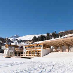 Kulm Country Club in St Moritz