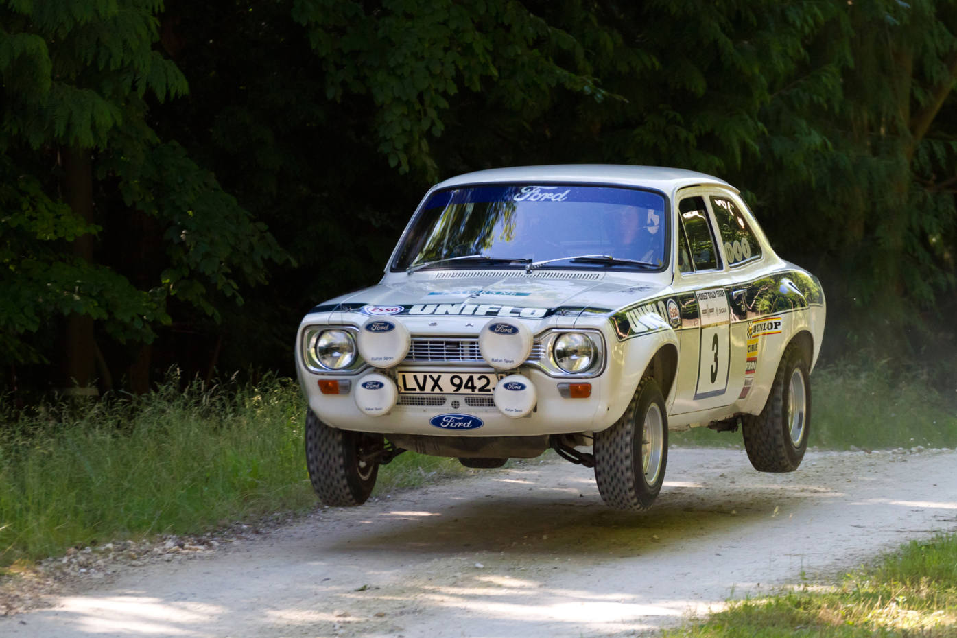 The 1972 Ford Escort Mk1 once driven by the late rally star Roger Clark