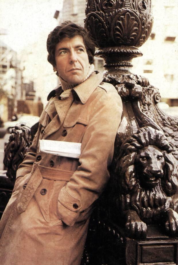 Cheng's style icon Leonard Cohen