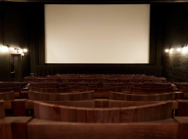 Inside the main screening room