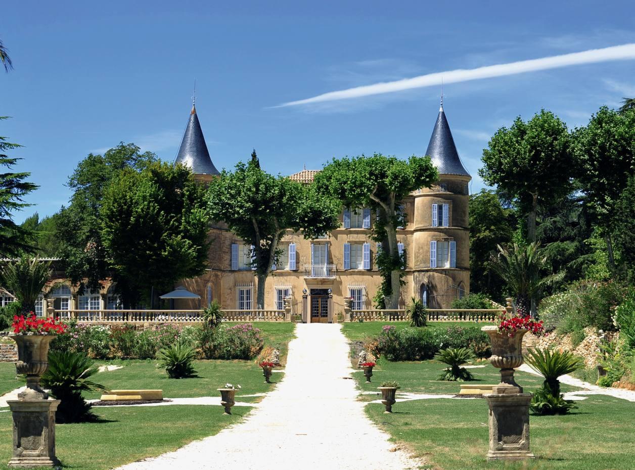 Château de Robernier in Provence