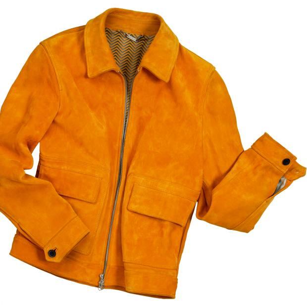 Hardy Amies suede jacket, £1,995