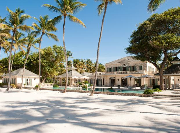 Tommy Hilfiger's Palm Beach property on Mustique