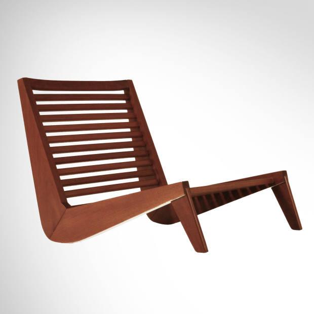 Fábrica México mahogany Ala A bench seat, £1,995