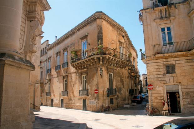 A four-bedroom apartment within a baroque palazzo in Lecce, €1.15m through Engel & Völkers