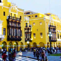 The city's historic main square.