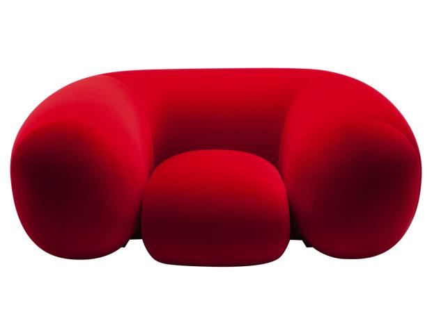 Philippe Malouin for Established & Sons foam and fabric Mollo armchair, £3,030