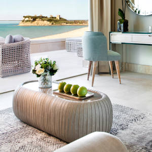 Rooms and suites at Sani Dunes, northern Greece, sit alongside awhite-sand beach