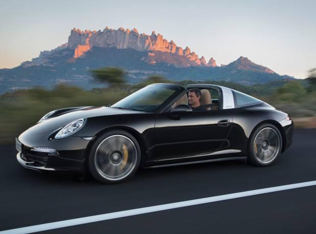 The Porsche 911 Targa 4S