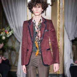 Roberto Cavalli peccary suede blazer, £1,795