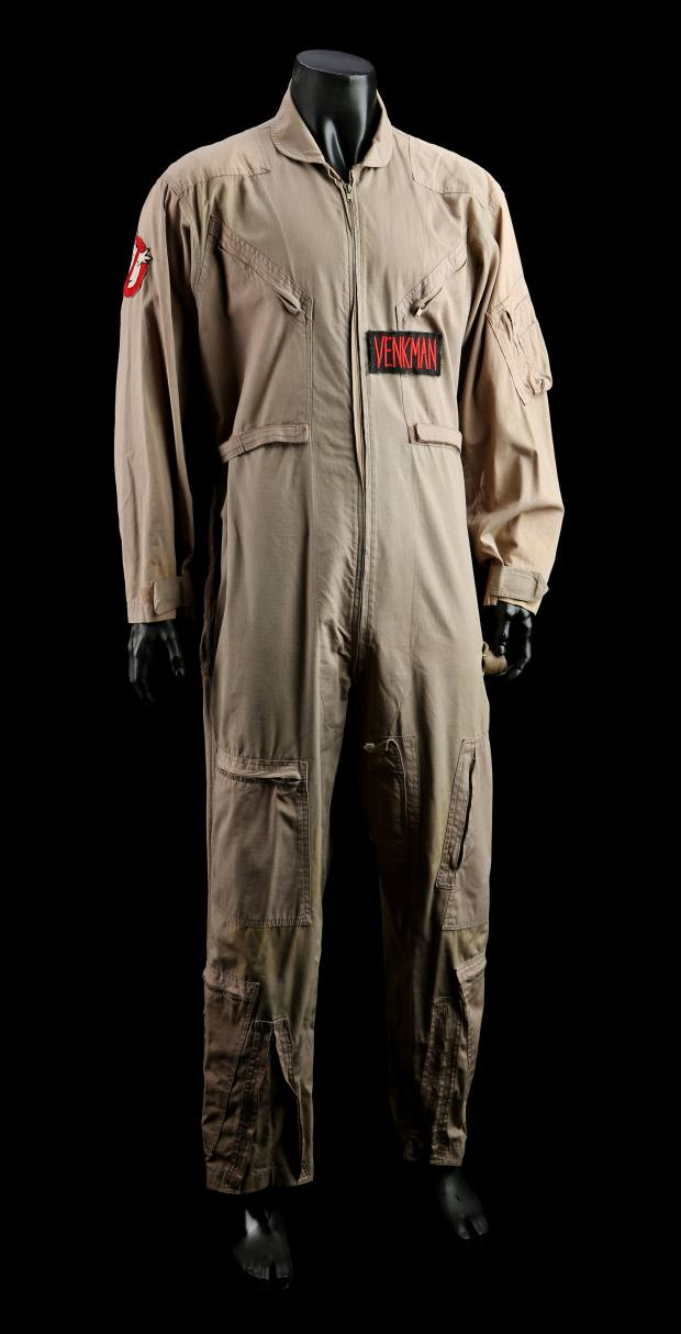 c70e6ac26aef The jumpsuit worn by Bill Murray as Peter Venkman in both Ghostbusters and  Ghostbusters II