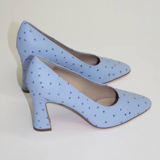 Maryam Nassir Zadeh faux-ostrich Isa pumps, $421