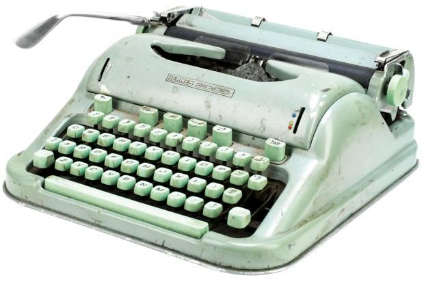 Sylvia Plath's 1959 Hermes 3000, sold for £32,500 atBonhams