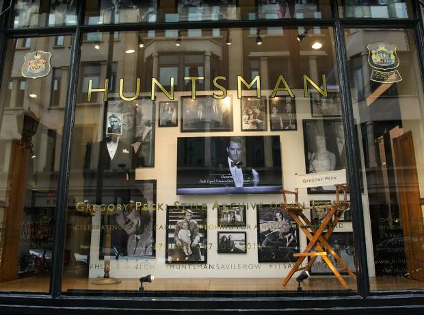 Huntsman's Gregory Peck window, summer 2014
