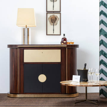 DimoreStudio has been inspired by the masters of 1960s design, most notably Pierre Cardin and Luigi Caccia Dominioni