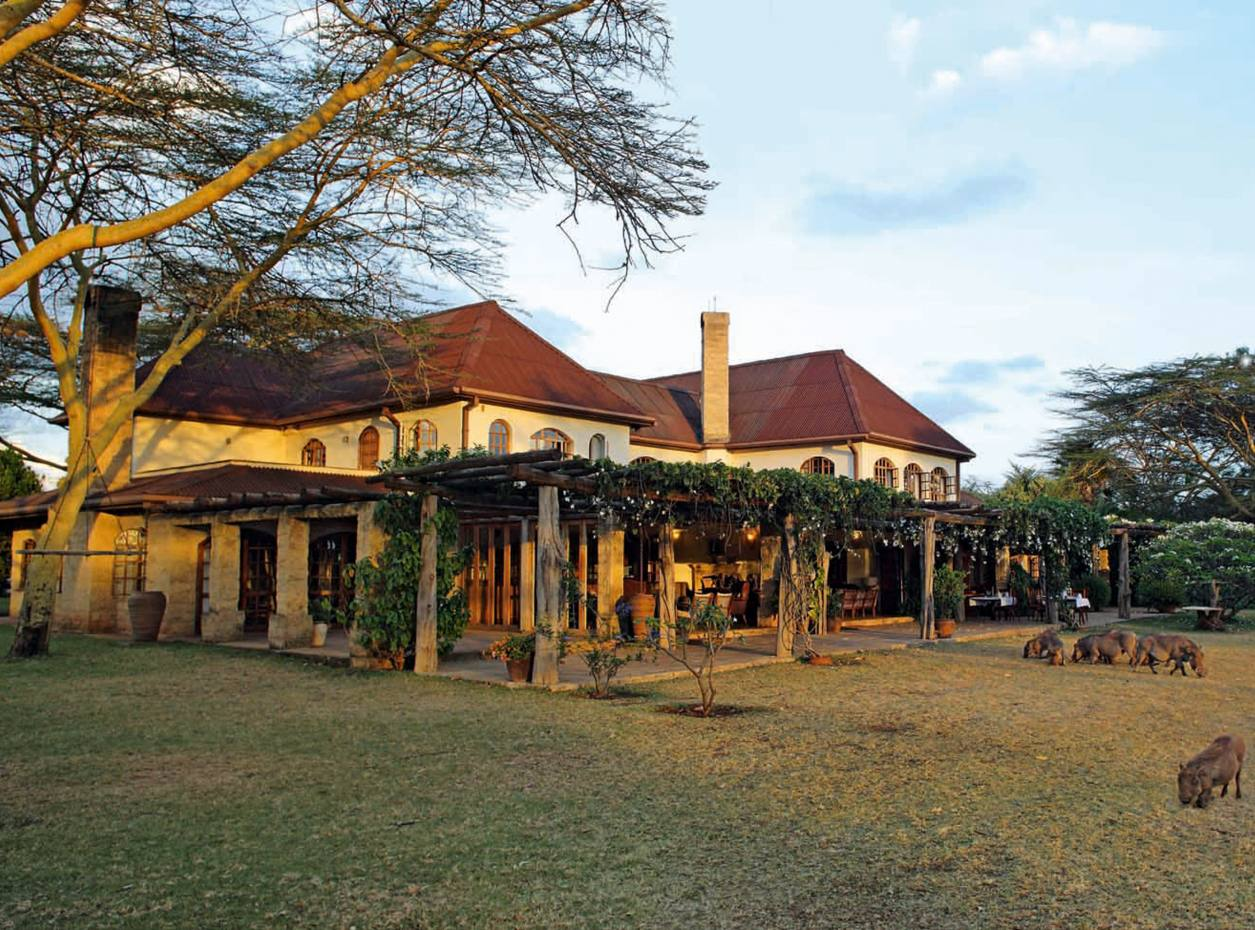 Hogmead, on the outskirts of Nairobi, overlooks the Ngong Hills, $6.5m through Knight Frank
