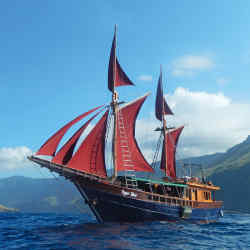 Bespoke journeys around the coastlines of West Papua are available on the private charter Tiger Blue