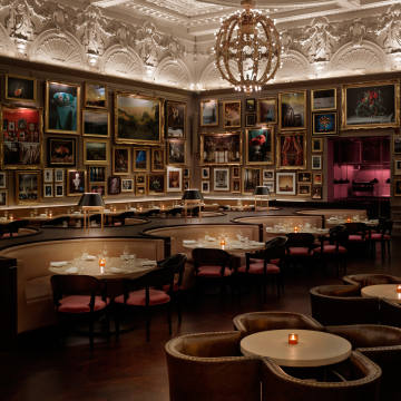 The Berners Tavern at The London Edition will be transformed into a ghostly shipwreck at the bottom of the sea to celebrate Halloween