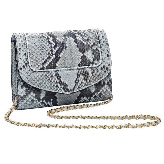 Delage python Jeanne bag, £750