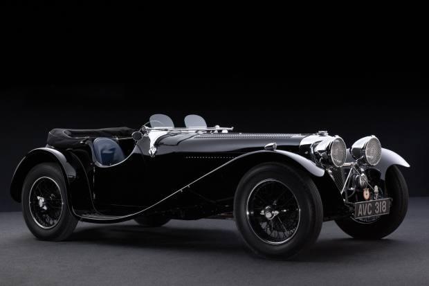 "The Jaguar SS 90 ""Captain Black"" dates from 1935"