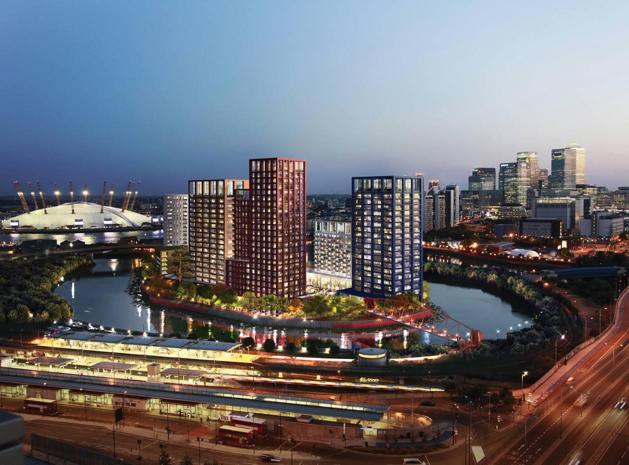 London City Island development
