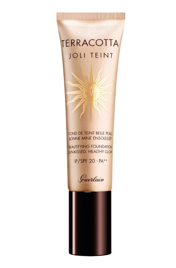 Guerlain's new Joli Teint Beautifying Foundation