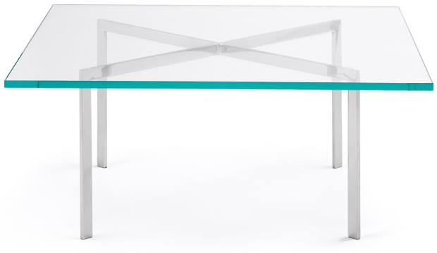 On Adelman's wishlist: a Mies Van der Rohe for Knoll coffee table