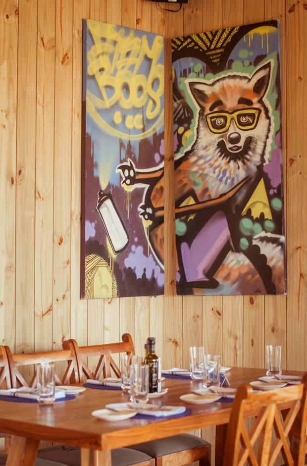 La Susana restaurant, José Ignacio, Uruguay