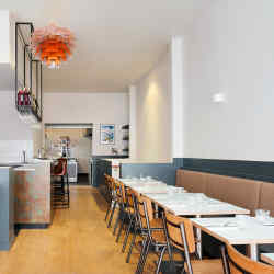 Marcella's 40-seat restaurant maximises its space in a well-considered way