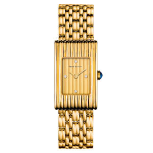 Boucheron gold and diamond Reflet watch, £18,700