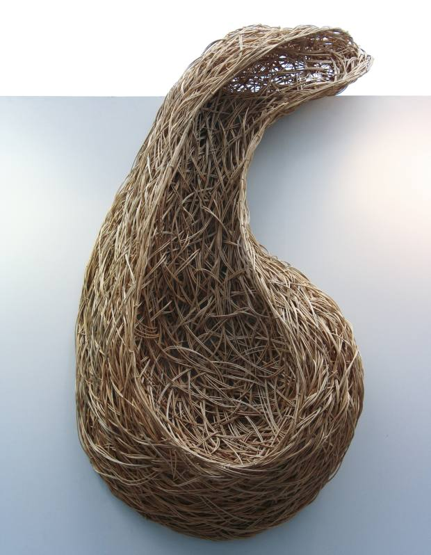 Laura Ellen Bacon's stripped Somerset willow Emergent Form, price on request. See text for stockists.