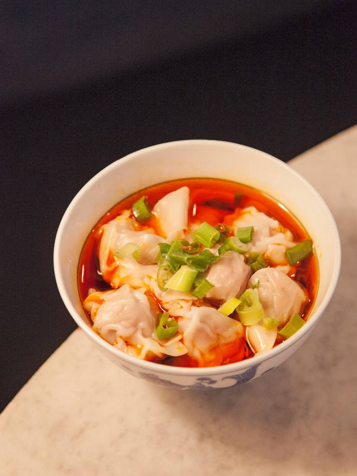 Spicy Chengduwontons, $8