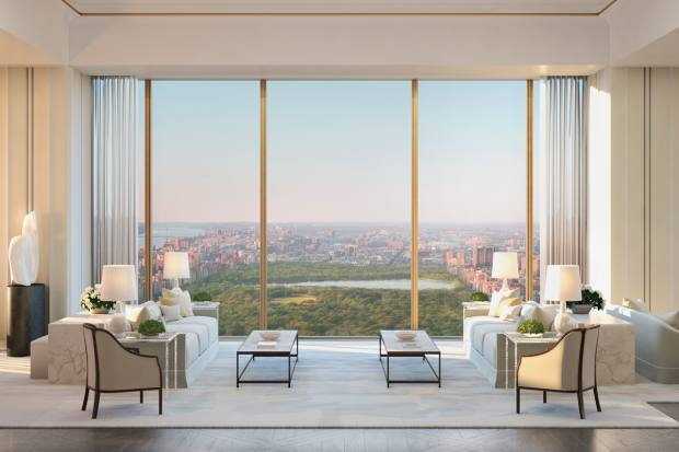 New York's 111 West 57th Street, from $18m to $57m